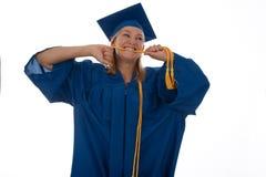 Graduation blues Stock Image
