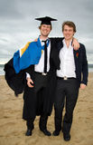 Graduation brothers Royalty Free Stock Images