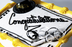 Graduation cake Royalty Free Stock Images