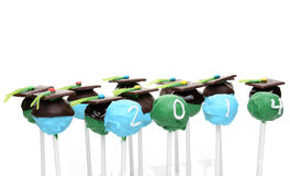 Graduation Cake Pops Stock Images