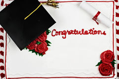 Graduation cake Royalty Free Stock Photography