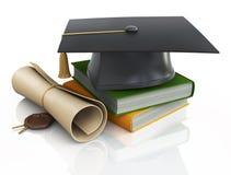 Graduation cap Stock Photography