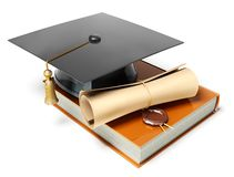 Graduation cap Stock Photos