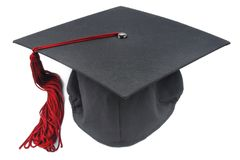Graduation cap Stock Photography