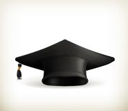 Graduation cap Royalty Free Stock Images