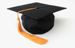 Graduation cap. Isolated object royalty free stock images