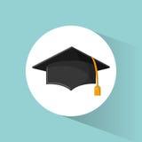 Graduation cap education symbol Royalty Free Stock Photography
