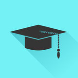 Graduation Cap Icon Royalty Free Stock Photo