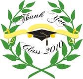 Graduation card. Graduation card on white background vector illustration