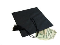 Graduation Cash Stock Image