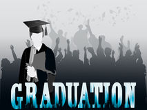 Graduation celeberation Stock Photography
