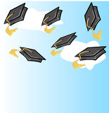 Graduation celebration Royalty Free Stock Photo