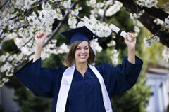 Graduation Celebration Stock Image
