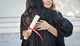 Graduation Celebration Success Certificate College Concept royalty free stock image