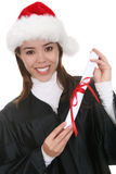 Graduation at Christmas Royalty Free Stock Photography