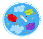 Graduation Clip art Royalty Free Stock Photos