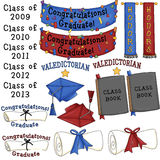 Graduation Clipart Royalty Free Stock Images