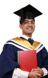 Graduation with clipping path Stock Images