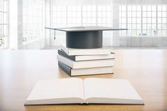 Graduation concept concrete interior Stock Images