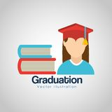 Graduation concept design Royalty Free Stock Image