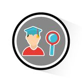 Graduation concept design Royalty Free Stock Photo