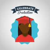 Graduation concept design Stock Images