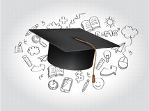 Graduation Concept Vector Illustration Stock Images