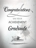 Graduation congratulations Royalty Free Stock Images