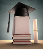 Graduation Cover Royalty Free Stock Images