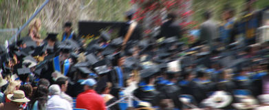 Graduation Crowd Royalty Free Stock Photography