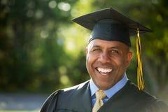 Graduation d'homme de Moyen Âge Image libre de droits
