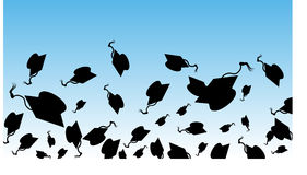 Graduation Day. An image representing Graduation Day Stock Image