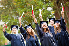 Graduation day Stock Photos