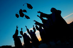 Graduation day. The day when my friends have their graduation Royalty Free Stock Image