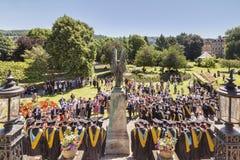 Graduation Day Bath Somerset UK Stock Image