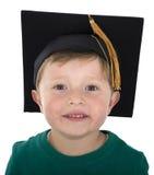 Graduation day for a boy. Graduation day for a young boy Royalty Free Stock Photo