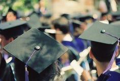 Graduation day in howard university stock photo
