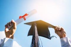 Graduation day, Images of graduates are celebrating graduation p Stock Images