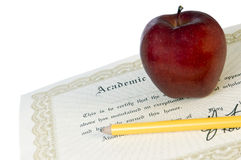 graduation de diplôme Photos libres de droits