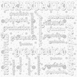 Graduation Design with Gray and White Polka Dot Tile Pattern Rep Stock Photos