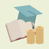 Graduation design Royalty Free Stock Photos