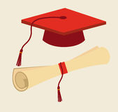 Graduation design Stock Photos