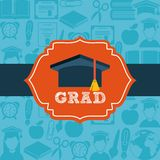Graduation design Stock Photo