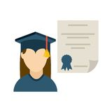 Graduation design Stock Photography