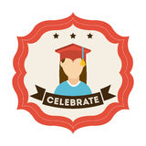 Graduation design Stock Photography