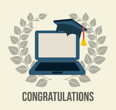 Graduation design Royalty Free Stock Photo
