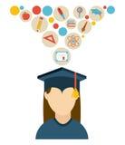 Graduation design Royalty Free Stock Images