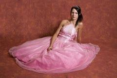 Graduation dress portrait Royalty Free Stock Photos