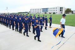 Graduation du garde côtier des USA Images libres de droits