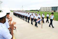 Graduation du garde côtier des USA Photos libres de droits